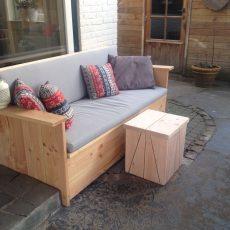 Douglas houten bankje