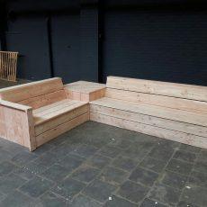 Douglas houten loungeset