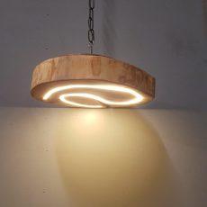 Eiken hanglamp